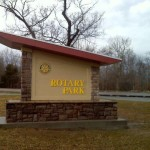 Rotary Park signs